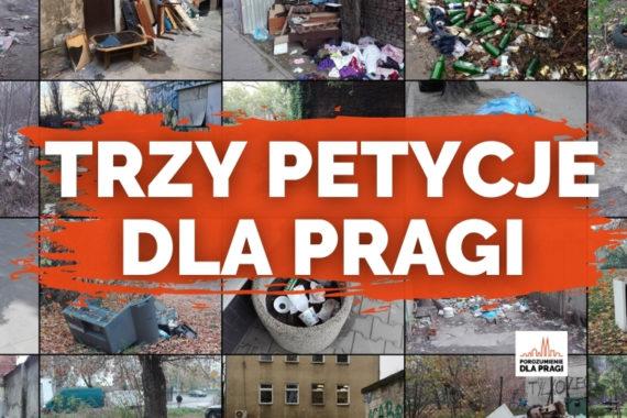 Trzy petycje dla Pragi, czyli jak poprawić porządek w naszej dzielnicy?