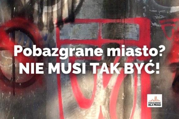 #StopBazgrołom - Pora na skuteczną walkę z bazgrołami i pseudograffiti!