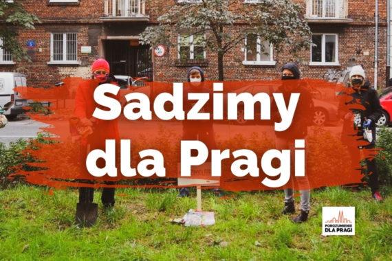 Akcja #SadzimyDlaPragi