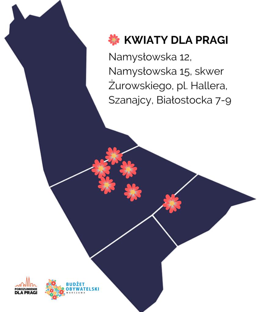 Kwiaty dla Pragi!