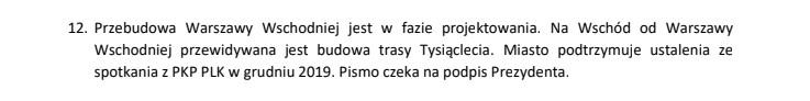 Notatka służbowa Zespołu Doradców TOR z dnia 12.03.2020