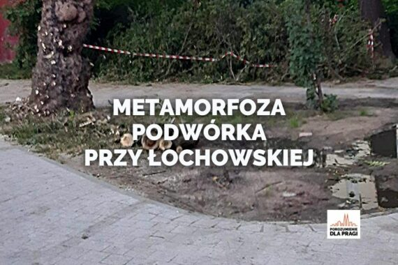 Zobacz, jak zmieniło się podwórko przy Łochowskiej 34!