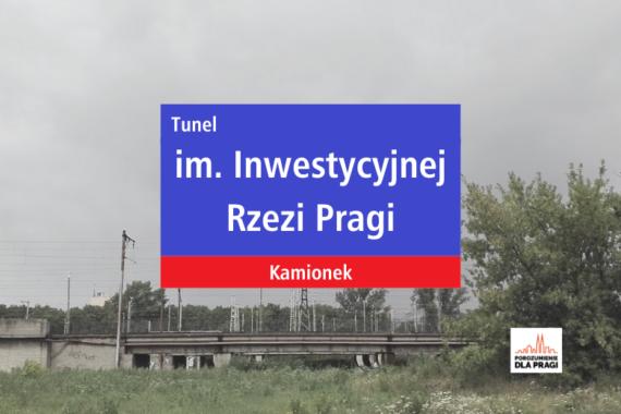Czy Tunel w ciągu projektowanej ul. Tysiąclecia zostanie na zawsze Tunelem Inwestycyjnej Rzezi Pragi?